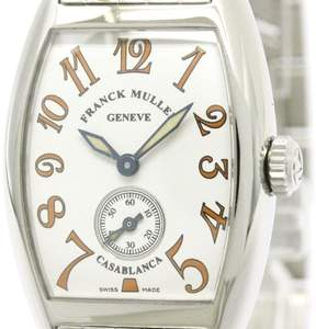 Franck Muller Casablanca 1750S6 Stainless Steel 25mm Womens Watch