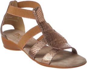Munro American Women's Zena Leather Sandal