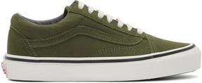 Vans Green Nubuck OG Old Skool LX Sneakers
