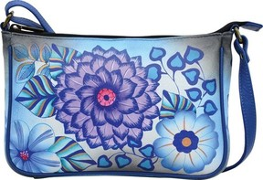 Anuschka Anna By ANNA by Hand Painted Mini Wide Crossbody 8314 (Women's)