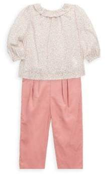 Ralph Lauren Baby's Two-Piece Floral Top and Pants Set