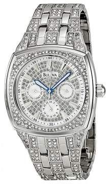 Bulova Crystal Day-Date Men's Watch