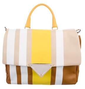 Sara Battaglia Teresa Cara Fringed Bag