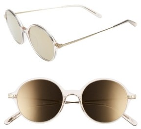 Oliver Peoples Women's Corby 51Mm Round Sunglasses - Dune