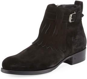 John Varvatos Lafayette Shawl Ankle Boot