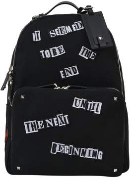 Valentino Punk Poem Backpack