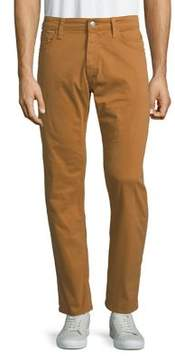 Mavi Jeans Zach Almond Twill Straight-Leg Pants