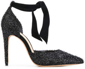 Alexandre Birman pointed glitter sandals