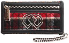 DSQUARED2 Dd Clutch With Chain Strap