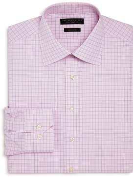 Bloomingdale's The Men's Store at Contrast Check Regular Fit Dress Shirt - 100% Exclusive
