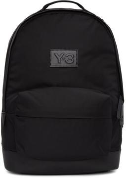 Y-3 Black Techlite Backpack