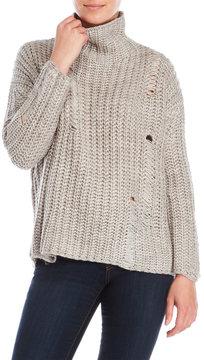 Cliche Mock Neck Sweater