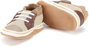 Robeez Baby Boys' Newborn-18 Months Trendy Trainer Baby Shoes