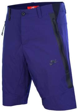 Nike Men's Bonded Woven Sport Casual Shorts-Deep Royal Blue-26