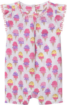 Hatley Pink Ice Cream Sprinkles Mini Romper