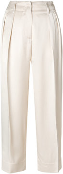 Forte Forte cropped pleated trousers