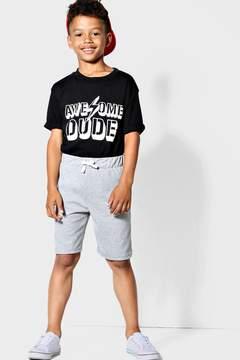 boohoo Boys Burnout Jersey Shorts