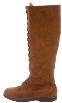 Fratelli Rossetti Suede Knee-High Boots
