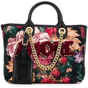 Dolce & Gabbana Capri iguana shopping bag