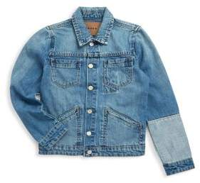 Blank NYC Girl's Buttoned Cotton Denim Jacket