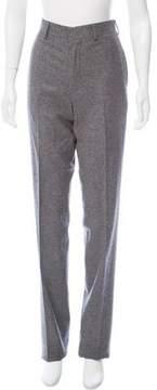 Brooks Brothers High-Rise Straight-Leg Pants