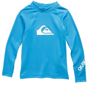Quiksilver Toddler Boy's All Time Long Sleeve Rashguard