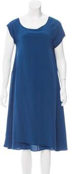 Bottega Veneta Silk Shift Dress