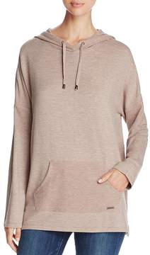 Andrew Marc Performance Thermal Inset Hooded Tunic
