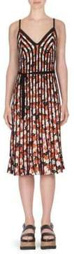 Kenzo Floral Fit-And-Flare Dress