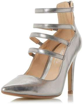 Head Over Heels *Head Over Heels by Dune 'Alora' Grey High Heeled Shoes