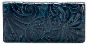 Patricia Nash Burnished Tooled Floriana Leather Continental Wallet