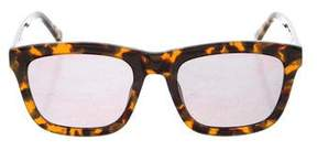 Karen Walker Depp Freeze Mirrored Sunglasses