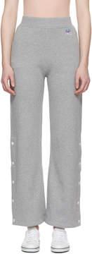 Courreges Grey Snap Lounge Pants