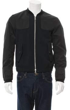Dries Van Noten Wool-Blend Bomber Jacket