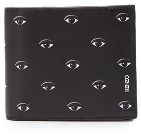 Kenzo Eyes Leather Billfold