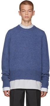 Acne Studios Blue Wool Kai Sweater