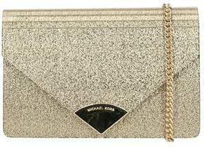 Michael Kors Barbara Md Envelope Clutch Bag - GOLD - STYLE