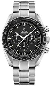 Omega Speedmaster 311.30.42.30.01.005 Stainless Steel Black Dial Manual 42mm Mens Watch