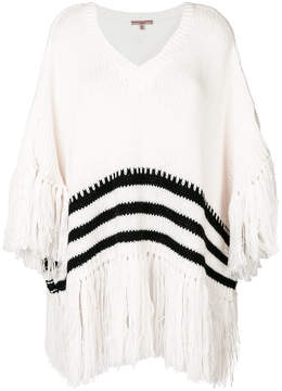 Ermanno Scervino striped fringed jumper