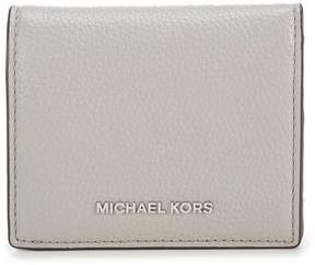 MICHAEL Michael Kors Mercer RFID Flap Card Holder - PEARL GREY - STYLE