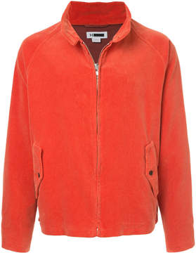 H Beauty&Youth corduroy zip jacket