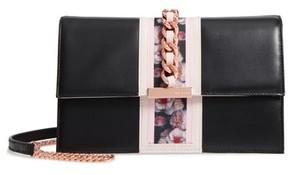 Ted Baker Ulayah Print Ribbon Crossbody Bag - Black