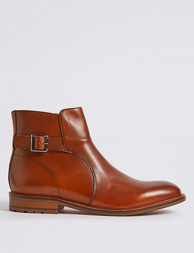 Marks and Spencer Leather Jodphur Boots