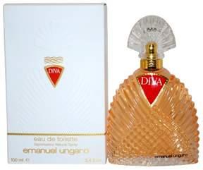 Diva by Emanuel Ungaro Eau de Toilette Women's Spray Perfume - 3.4 fl oz