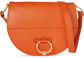 J.W.Anderson Latch Textured-leather Shoulder Bag - Orange
