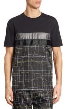 Saks Fifth Avenue x Anthony Davis Mesh Graphic Print Tee