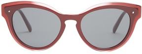 VALENTINO Cat-eye acetate sunglasses