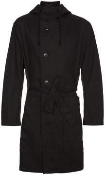 Ann Demeulemeester belted parka coat