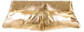 Lauren Merkin Metallic Eve Clutch
