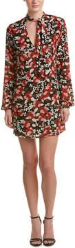 Cotton Candy Floral Shift Dress